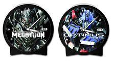 TRANSFORMERS 2 - Optimus Prime / Megatron Alarm Clock (Wesco) #NEW