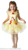 Girls Disney Belle Beauty Tutu Ballerina Book Day Fancy Dress Costume Outfit