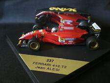 ONYX 1/43 FERRARI 412 T2 #27 JEAN ALESI F1 1995 Ref. 237