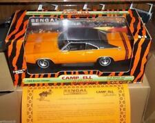 ERTL 29170 1968 Dodge Charger Bengal orange window sticker 2002 Club Mopar