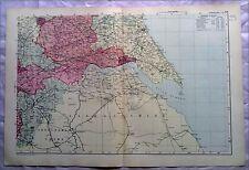 Yorkshire (SUD EST), anni 1890 Gate Mappa PIEGA