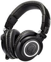 Audio-Technica ATH-M50x Professional Monitor Headphones. U.S. Authorized Dealer
