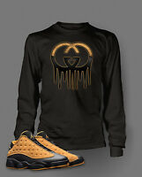 Graphic Tee Shirt to Match AIR JORDAN 13 LOW CHUTNEY Shoe Big and Tall or Small