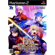 Used PS2  CAPCOM Fate Unlimited Codes  SONY PLAYSTATION JAPAN IMPORT
