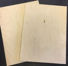50 x A4 Birch Plywood Sheets Laser Safe Crafts, Models, Pyrography 3mm