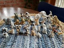 New ListingVintage Hagen Renaker + Japan Lot 29 Porcelain Animal Miniature Figurines Dogs