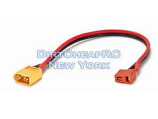Charge Cable Adapter: Deans Female to XT60 Male XT-60 DJI Phantom Plug LiPo Lead