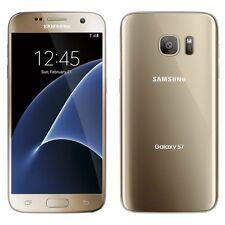 Unlocked Samsung Galaxy S7 G930U 32GB Gold Cricket T-Mobile AT&T Cricket Good