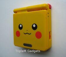 Nintendo Game Boy Advance GBA SP Pokemon Pikachu Yellow AGS 001 FULLY REFURBED
