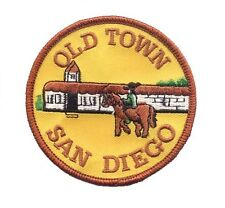 San Diego Old Town Patch - Adobe Mission, California (Iron on)