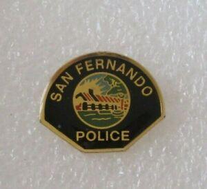 US CA San Fernando Police Pin