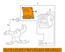 GM OEM Anti-lock Brakes-Control Module 15813054