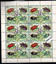(2810-21)    SOMALIA 1995 - MNH - FAUNA - INSECTS - SHEET