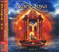 VANDROYA - One +1/ Japan OBI New CD 2012 / female fronted Power Metal / Brazil