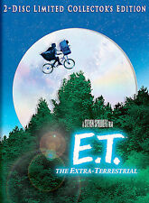 E.T. The Extra-Terrestrial (DVD, 2002, 2-Disc Set, Ltd Collector's Edition)