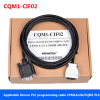 Applicable Omron PLC programming cable CPM1A/2A/CQM1 data line CQM1-CIF02