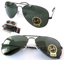 New Unisex Sunglasses Ray-Ban RB3025 W0879 Aviator Gun metal 58mm G-15 Lens