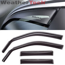 WeatherTech Side Window Deflector - Toyota Tundra Double Cab - 2007-2017 - Dark