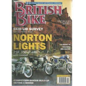 British Bike Magazine August 1995 (026) NORTON 250 350 400 TRIUMPH 900