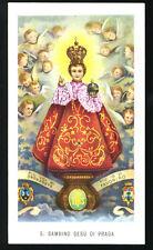 santino-holy card EGIM n.218 GESU' BAMBINO DI PRAGA