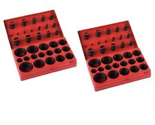 814pc O-Ring Assortment Set Plumbing Metric SAE Orings Rubber Gasket Tool Kit