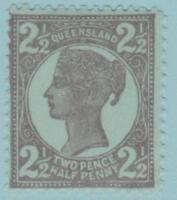 Queensland 116 Mint Hinged OG * NO FAULTS EXTRA FINE !