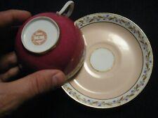 Belle et rare tasse en porcelaine de Paris Sèvres ? Lahoche Pannier vers 1850