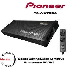 """Pioneer TS-WX70DA ultra plat slim amplifié voiture subwoofer 200W 6"""" subwoofers"""