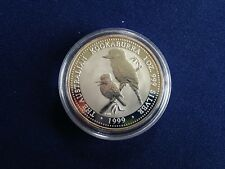 1999 Australia $1 Silver Kookaburra Gem BU One Ounce  E5961
