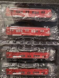 HO MTH New York City R-17 RedRobin DCC 4-Car Subway Set 80-2370-0 *New