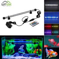LED Aquarium Lights Bar Safe Waterproof Fish Tank Cistern Rockery Lamp 19-48cm