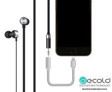 iPhone 7 Premium Lightning to 3.5mm Aux Headphone Jack Audio Adapter for Apple