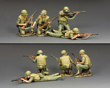 KING & COUNTRY VIETNAM WAR VN070 M14 U.S. MARINES IN ACTION MIB