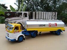 PEGASO 2030  Camion Semi Remorque Citerne Lait LECHE PASCUAL  1/43 Neuf en Boite