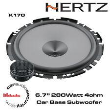"""Hertz UNO K170 - 17cm 6.7"""" 2-Way Car Audio Component Speakers 280W"""