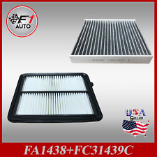 Auto1tech Engine& CARBON CABIN Air Filter COMBO  for 2018-2020 Nissan KICKS
