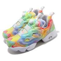 Reebok InstaPump Fury Pride Multi-Color White Men Women LGBTQ Shoes FX4775