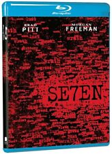 Seven Blu-ray Disc Brad Pitt Morgan Freeman Gwyneth Paltrow David Fincher Se7en