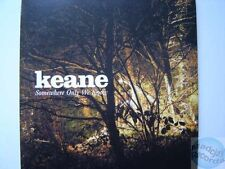 KEANE SOMEWHERE ONLY WE KNOW france french CD PROMO card sleeve