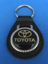 CAMRY COROLLA TACOMA RAV4 HIGHLANDER LEATHER KEYCHAIN KEY CHAIN RING FOB #048