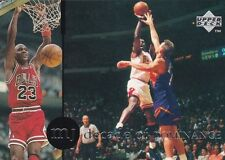 CHICAGO BULLS MICHAEL JORDAN 1994 UPPER DECK RARE AIR #87 DECADE OF DOMINANCE