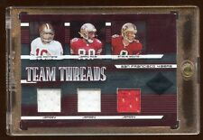2005 LIMITED TRIPLE GAME JERSEY /50 JOE MONTANA / STEVE YOUNG / JERRY RICE 49ERS