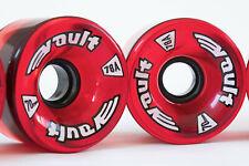 Vault 70mm 78a Skateboard / Longboard Wheels - Red