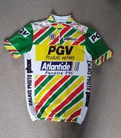 Mens Vintage Tour De France Cycling Jersey size M L
