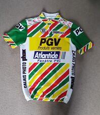 Da Uomo Vintage Tour De Ciclismo Jersey Taglia France M L