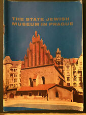 Jewish Museum In Prague 1967 State Official Historical Booklet-Out Of Print