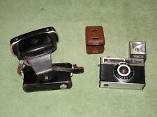 AGFA ISOMAT-RAPID 2428 - Fotoaparat / Kamera - in Lederetui 6129 - mit iSi-Blitz