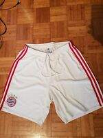 Bayern München player issue match worn trikot football  hose shorts