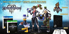 KINGDOM HEARTS III (3) DELUXE EDITION + BRING ARTS FIGURES [PS4] Sealed [NA]