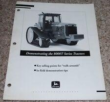 John Deere 8000T Series Tractors In-field Demonstration Tips Manual Walk-Arounds
